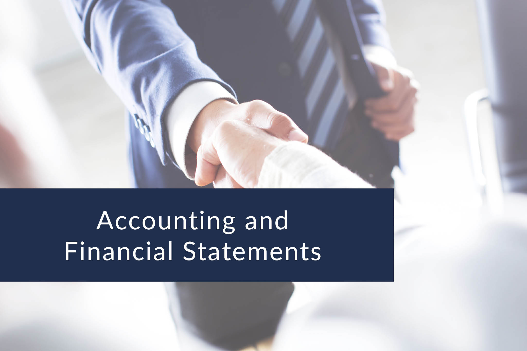 Accounting and financial statements - Kopie
